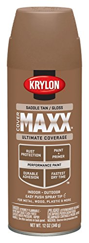 krylon-k09138000-covermaxx-spray-paint-gloss-saddle-tan-by-krylon
