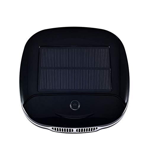 CAPE Purificatore d'Aria per Auto Deodorante Eliminazione di Aria Solare formaldeide anione Odore Allergie Eliminator, Filtration, Black