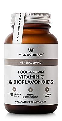 Food-Grown® Vitamin C & Bioflavonoids by Wild Nutrition