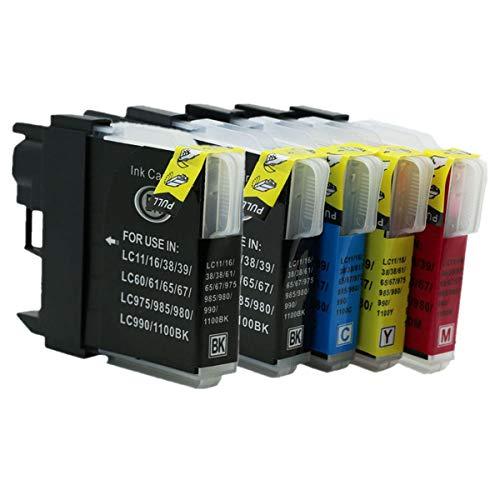 Generisch Kompatible Tintenpatronen Ersatz für Brother LC61/65/67 MFC-735CDN MFC-790CW MFC-795CW MFC-J800D MFC-J800DW MFC-J805D MFC-J805DW MFC-J850DN MFC-J850DWN MFC-J855DN MFC-J855DWN - Lc61 Brother Tintenpatronen