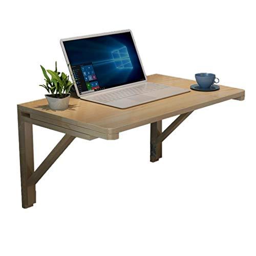 LPYMX Wandtisch Klappbarer Wand-Laubschreibtisch, Küchentisch aus Holz Wandklapptisch (größe : 70 * 50cm) (Küchentisch, Möbel)