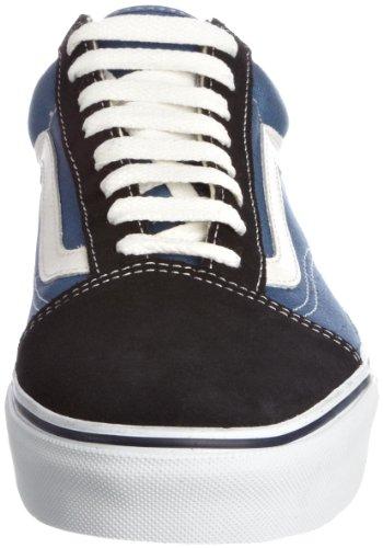 Vans U Old Skool, Baskets mode mixte adulte Bleu (Navy)