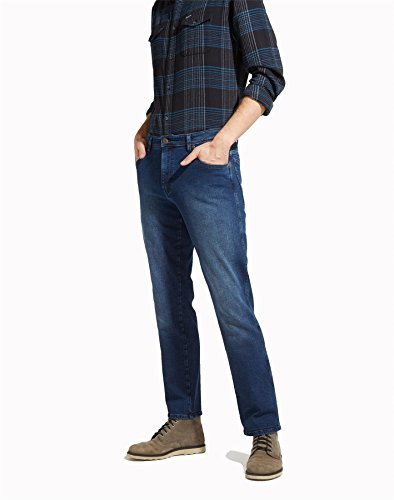 Wrangler Texas Jeans mittelblau | W38-L32 (Denim Tall Stretch)