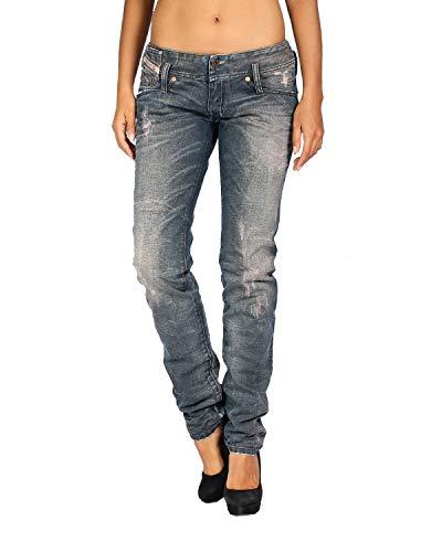 Diesel - Jeans da Dona MATIC 885C - Slim Tapered - Blu, W25 / L32