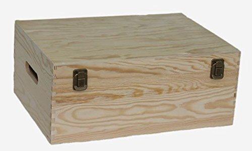 Red Hamper Rouge Hamper Bouteille en Bois Porte-boîte, Brown, 36 cm Marron, Dimensions: (L x L x H) 26 x 36 x 15 cm