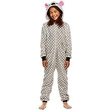 Jellifish Kids Pijamas de los niños - los Animales de Peluche con Cremallera Onesie Manta de