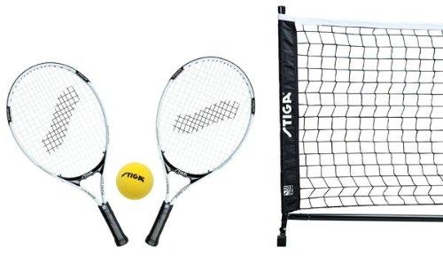 Preisvergleich Produktbild STIGA Freizeit Tennisset für Haus & Garten,  365 x 70 cm