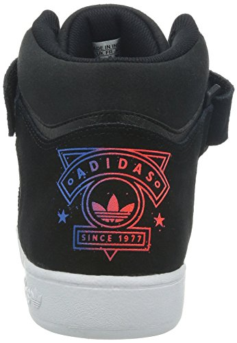 adidas Varial Mid, Unisex-Erwachsene Hohe Sneakers Cblack/Solred/Blubir