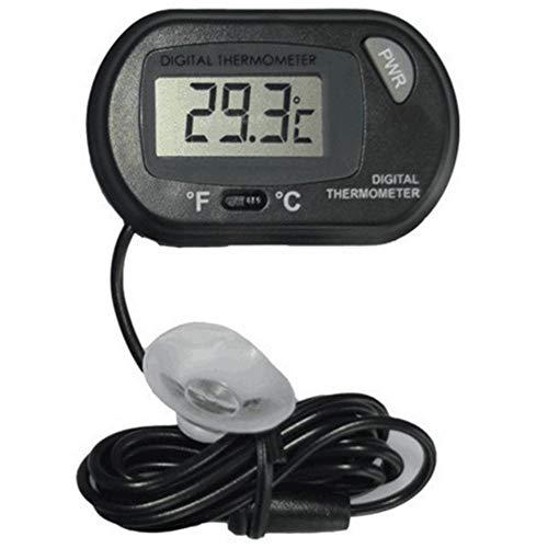 xluckx Thermomètre Thermometer Digital pour Aquarium Terrarium,LCD Thermomètre Thermometer Digital Précision 1°C pour Aquarium Poisson