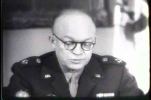 Classic President Dwight D Eisenhower Films DVD: 1943 - 1959 President & Wartime General Dwight D. Ike Eisenhower Films Including Foreign Policy, Speeches, & Pictures (Eisenhower D Dvd Dwight)