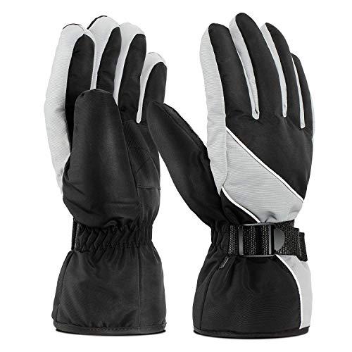 Skihandschuhe Winterhandschuhe Herren Handschuhe Wasserdicht Skihandschuhe Herren Damen Ski Gloves-Outdoor Handschuhe Snowboard Handschuhe Warm Winterhandschuhe Skihandschuhe(Plus Samt Verdickung)