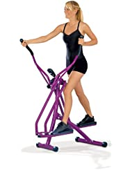 TV - Unser Original  Nordic Walking Crosstrainer, aubergine, 0878