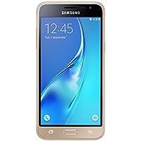 Samsung SM-J320FZDNBTU Galaxy J3 SIM-Free Smartphone - Gold