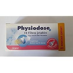 Gilbert Physiodose 10 Filtres Jetables pour Mouche Bébé