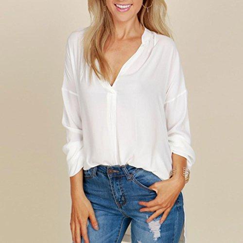Sexyville Maglia a manica lunga - Donna Bianco