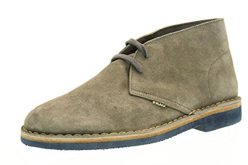 FRAU chaussures homme cheville 25G3 GREY Gris