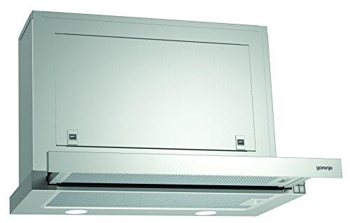 Gorenje BHP 623 E8X Flachschirmhaube/ 60 cm/AB- oder Umluftbetrieb möglich/Anti-Fingerprint-Beschichtung, Edelstahl