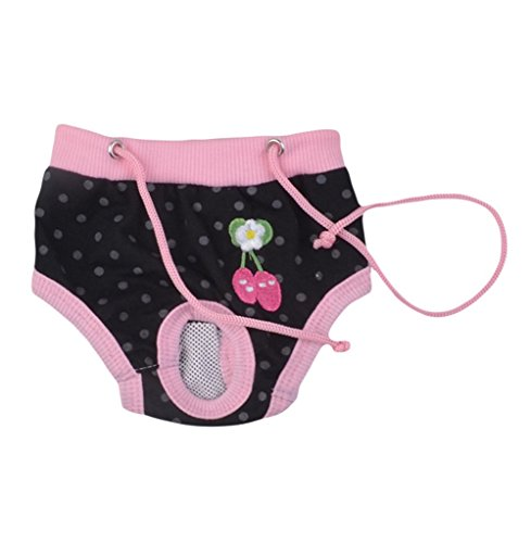 Da. WA 1pcs hembra de mascota Perro Algodón sanitarios fisiológicos menstruales bragas ropa interior perro pañales higiene Pant