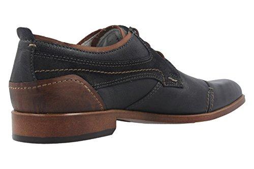 FRETZ men  71521212/32 32, Chaussures de ville à lacets pour homme bleu bleu Bleu