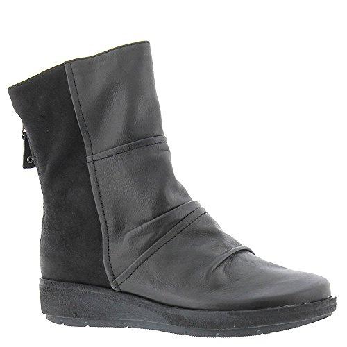 OTBT Women's Mid-Shaft Black Boots