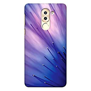 DASM United Honor 6x Premium Back Case Cover - Abstract Blue Flower Tentacles