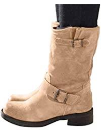Amazon.es: botas largas mujer color gris JiaMeng 98%</div>             </div>   </div>       </div>     <div class=