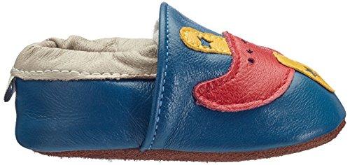 Freefisher Lauflernschuhe, Krabbelschuhe, Babyschuhe - in vielen Designs (18-24 Monate, Giraffe) Blu (flugzeug)