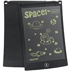 Newyes 8.5-Inch Tablet- de escritura LCD tablero de dibujo Regalos para niños oficina escritura pizarra (black)