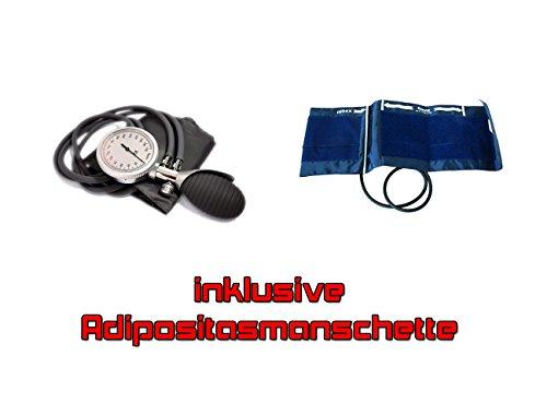 Manuelles Blutdruckmessgerät 2-Schlauch für Erwachsene mit zusätzlicher Adipositasmanschette