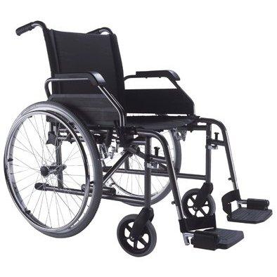 Rollstuhl S-Eco 2 SITZBREITE 52 cm von Bischoff + Bischoff Faltrollstuhl Reiserollstuhl Transportrollstuhl