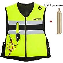 5ae3808cea1 MOTORFANSCLUB - Airbag Vest Airbag Jacket - Chaleco de Seguridad Unisex  para Adultos