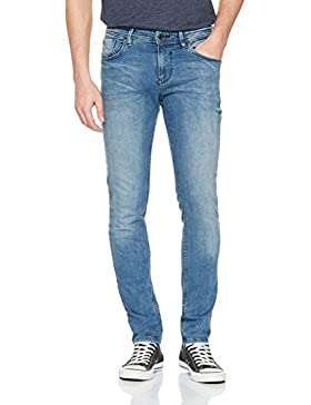 Tom Tailor Denim Culver Light Stone Wash, Vaqueros Skinny para Hombre