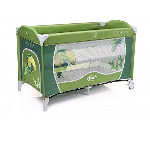Reisebabybett Modell Vega, grün