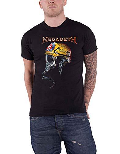 Megadeth Full Metal VIC Camiseta Negro L