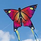 Schmetterling Drachen - Butterfly Pink - Einleiner Flugdrachen für Kinder ab 3 Jahren - 58x40cm -...