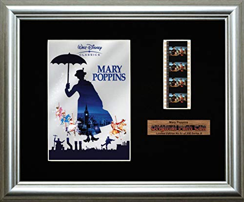 Disney Mary Poppins Original Filmstreifen Series B Stück Originalfilm aus Ein Film Cell