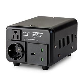 Bronson++ TI 800 110 Volt USA Spannungswandler Ringkern-Transformator - In: 100-120V oder 220-240V / Out: 110V und 220V - Bronson 800W