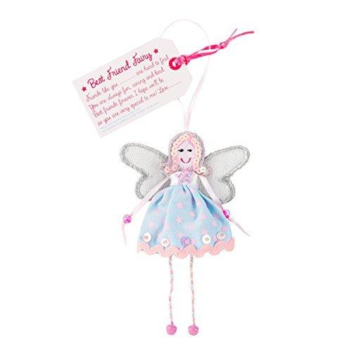 Fair-Trade-Feen - Bester Freund Fee - Best friend Fairy - Perle Silber Beine