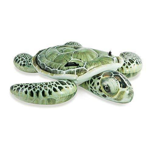 Badeinsel / Schwimmtier / Luftmatratze / Reittier Schildkröte