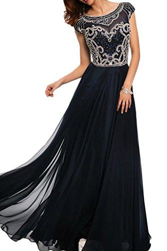 Ivydressing -  Vestito  - linea ad a - Donna Blu scuro