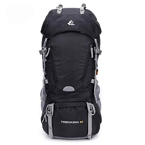 TnXan 60L Wasserdichter Wanderrucksack Klettertaschen Rucksack mit Regenschutz Sport Outdoor Bag Trekking Tactical Backpack