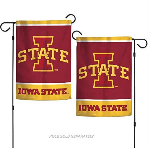 Wincraft Snack-Schale NCAA Iowa State Cyclones 31,8x 45,7cm Zoll beidseitigen Garten Flagge Logo Iowa University Alumni