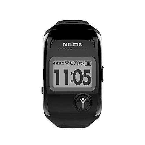 Nilox bodyguard smartwatch e tracker gps, nero
