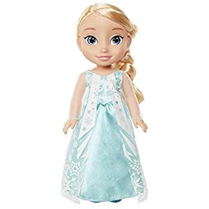 Jakks Pacific Elsa Princesa Disney Anna, Frozen Muñeca Toddler, Multicolor, 35 cm (98943-EU-2)