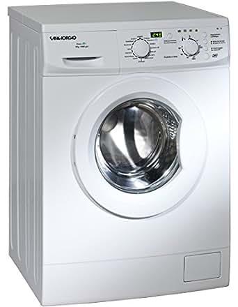 SanGiorgio SES510D freestanding Front-load 5kg 1000RPM A+ White washing machine - washing machines (Freestanding, Front-load, White, Left, 5 kg, 1000 RPM)