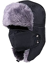 Aviator Hat Cocoon Anti Wind Cold Dust With High Quality Fur