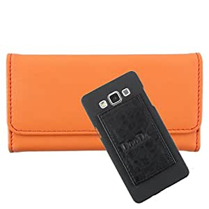 DooDa PU Leather Wallet Flip Case Cover With Card & ID Slots For Gionee Elife E3