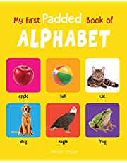 My First Padded Book Of Alphabet Early Learning Padded Boar