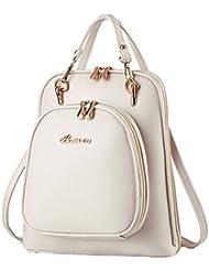 Cerui Para Mujer Bolsos Vintage Casual Mochila Bolsa De Hombros Backpack Viaja Al Aire Libre