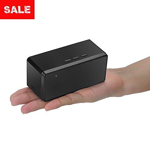 OMOUP Versteckte Kamera,1080P FullHD Kamera Bewegungserkennung Nachtsicht Überwachungskamera mit 16GB Gedächtnis (Kamera Mit Alarm)